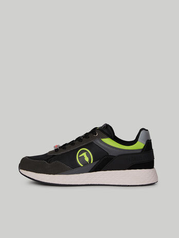Faux leather and suede Kevin Kyoto sneakers