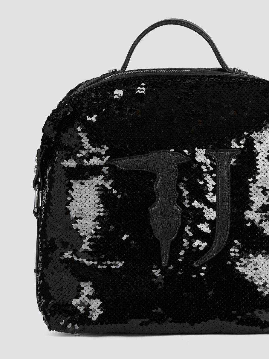 1bfde3f59a Zaino T-Wow Night medium con paillettes e maxi logo