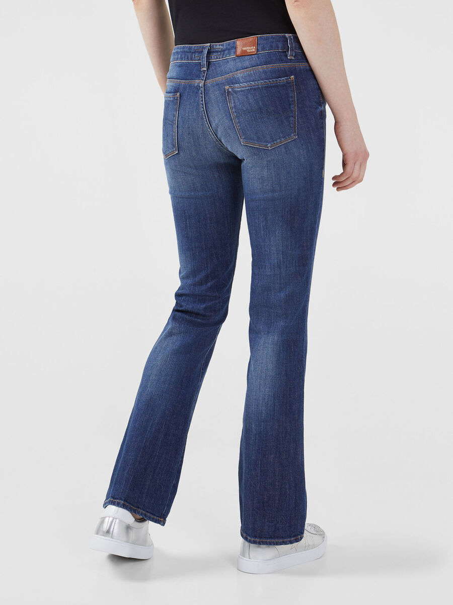 Flared 206 jeans in blue Ivy denim