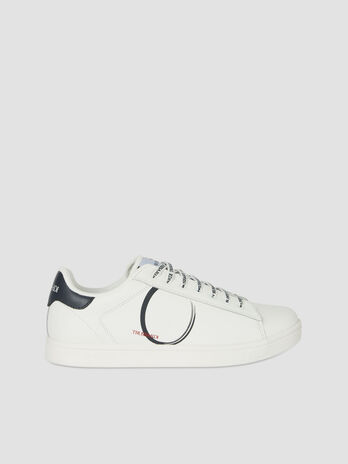 Leather Galium sneakers with branded laces
