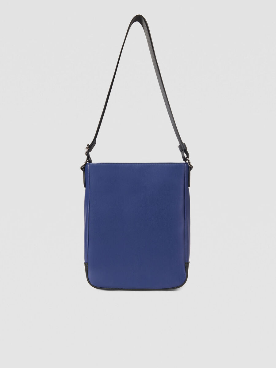 Medium Business City reporter bag in faux leather
