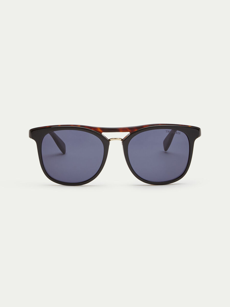 Dark tortoiseshell sunglasses