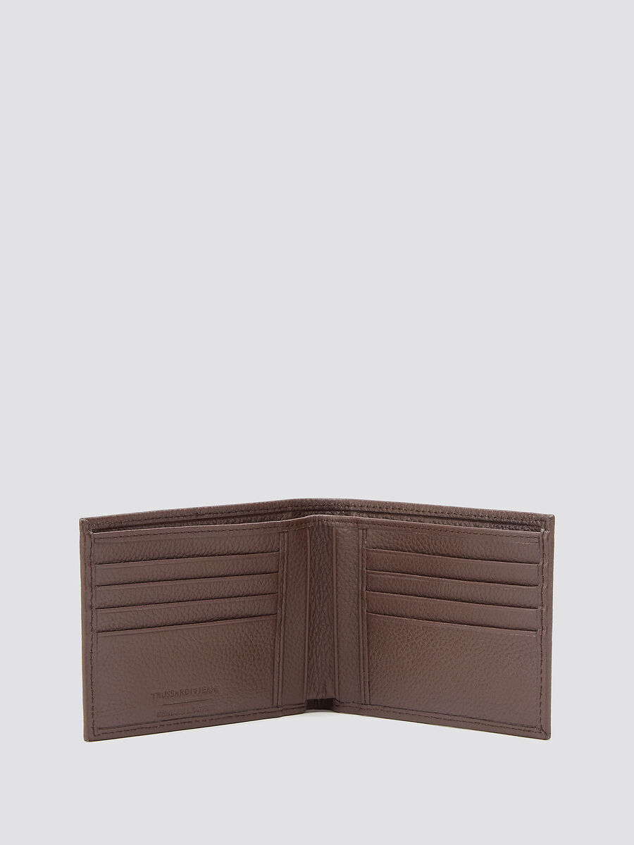 Branded Crespo leather wallet