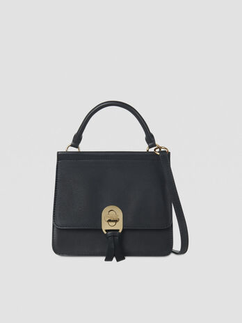 Mya crossbody bag in smooth faux leather