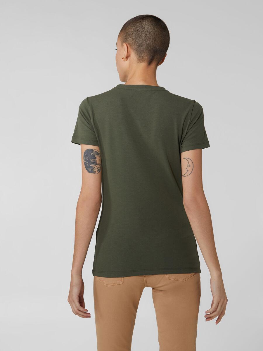 Regular fit stretch jersey T-shirt