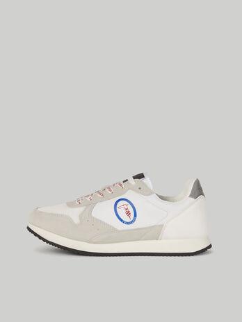 Sneaker Abax aus Funktionsgewebe und Veloursleder