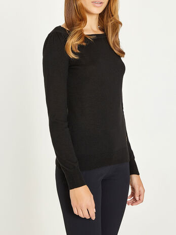 Ribbed wool and cashmere sweater
