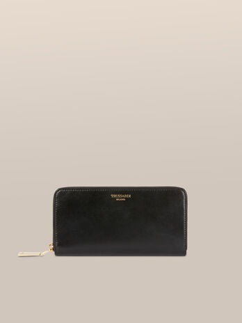 Bianca zip around purse in Elite leather