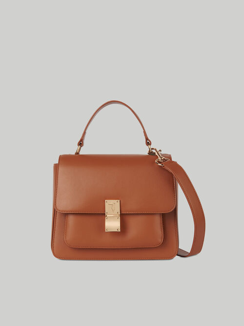 Medium Lione handbag in faux leather