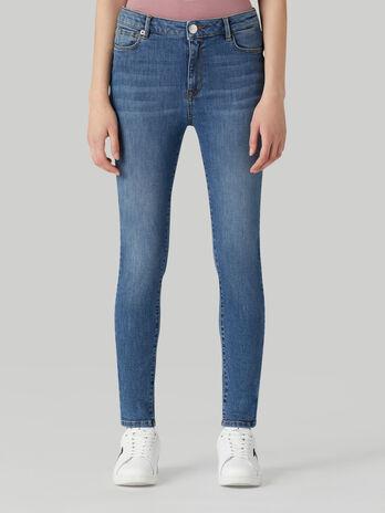 Jeans New 206 super skinny in denim twill