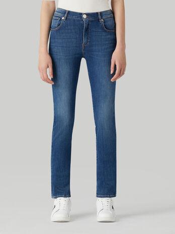Jeans 130 classic in denim Flames