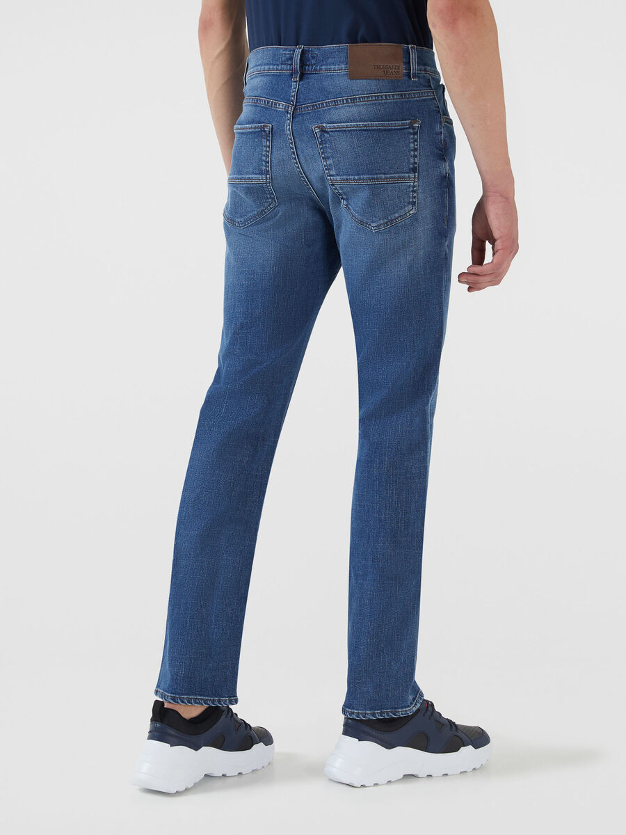 Icon 380 jeans in Selecia blue denim