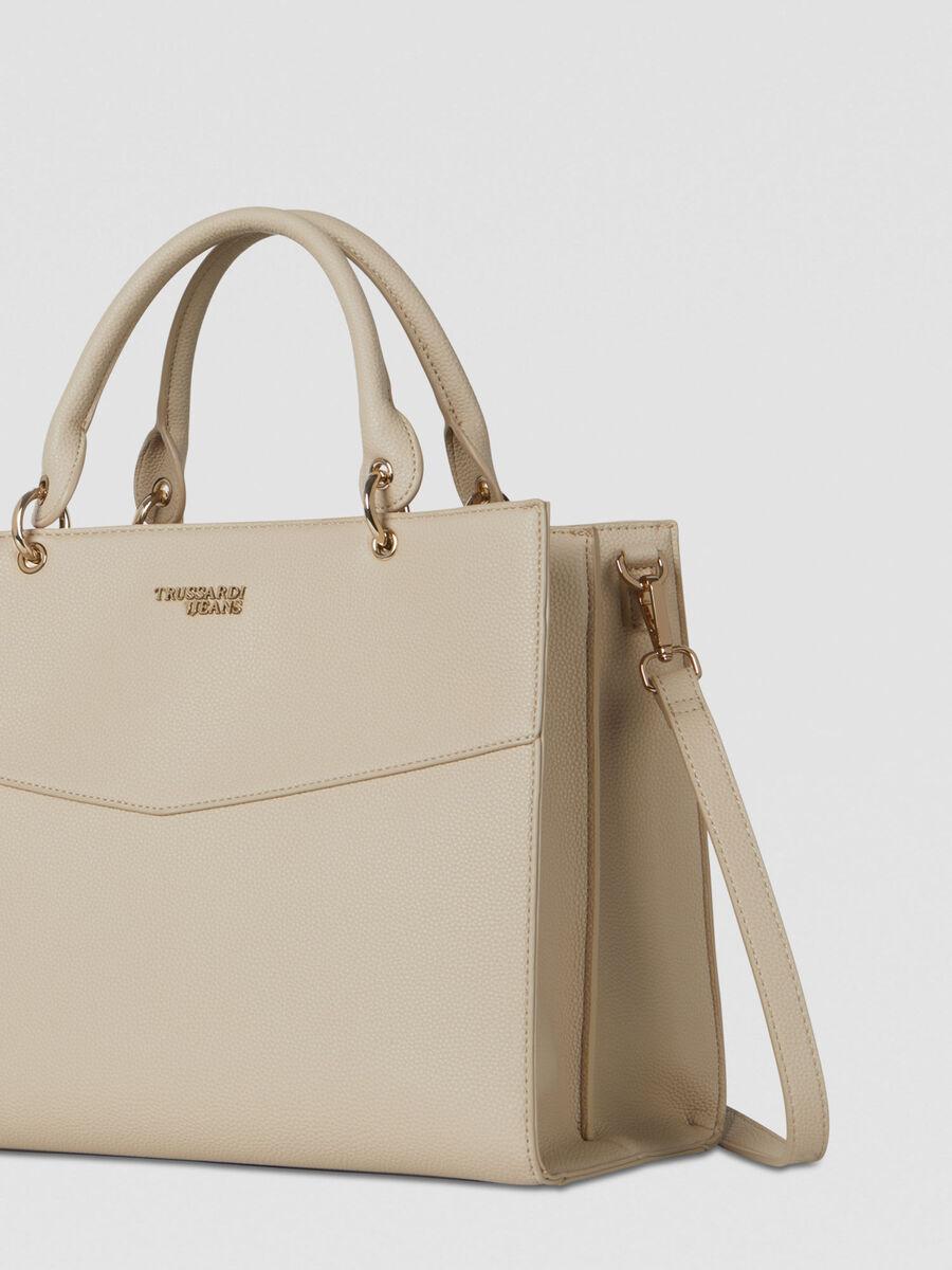 Large Charlotte top handle bag
