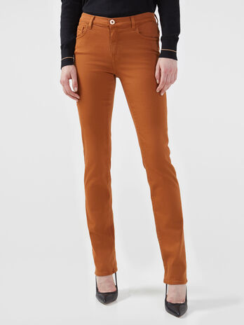Skinny 105 trousers in bull cotton