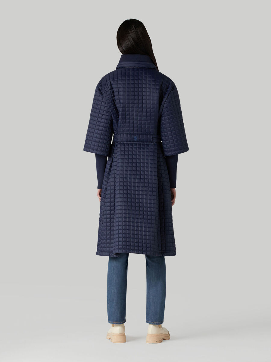 Light matte nylon down jacket