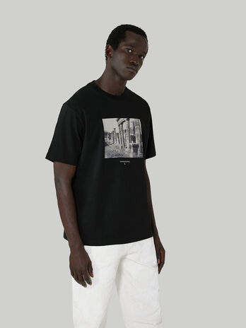 T-Shirt im Over-Fit aus Baumwolljersey