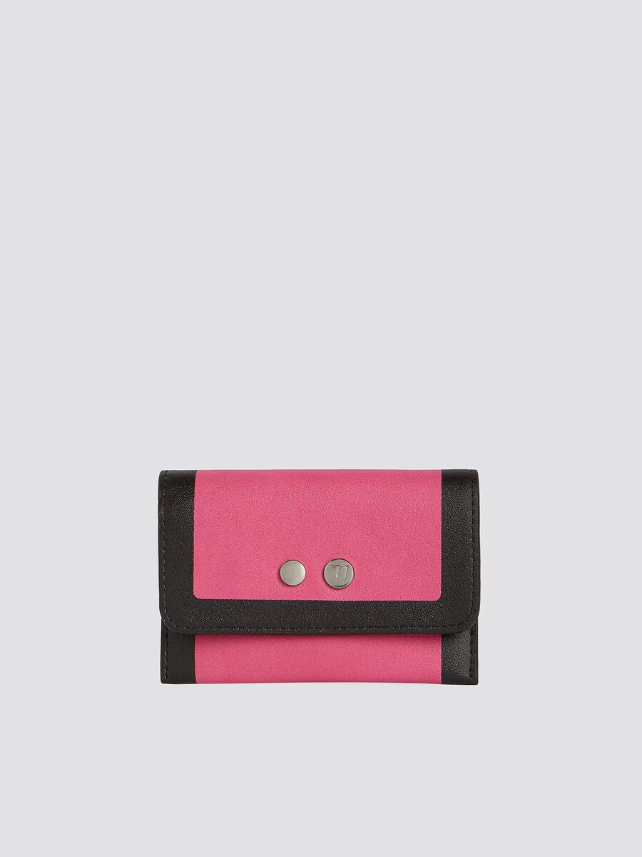 Zweifarbiges Kartenetui With Love Bifold Small mit Logo