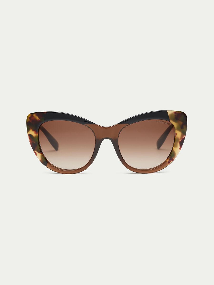Sonnenbrille in Schildpatt Optik
