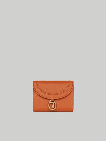 Small Ellie purse with deerskin print