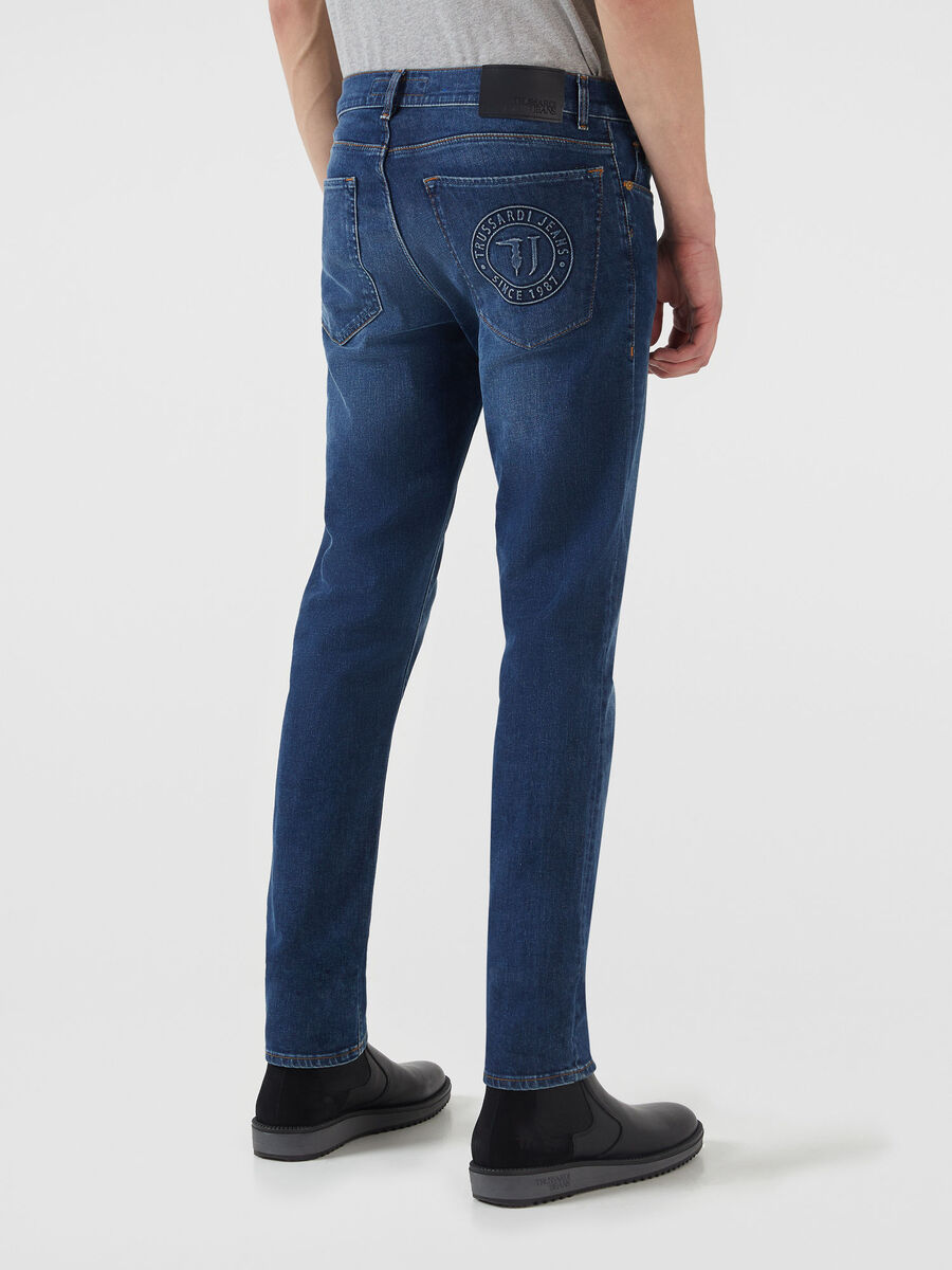 Close Fantasy 370 jeans in Hiver two tone denim