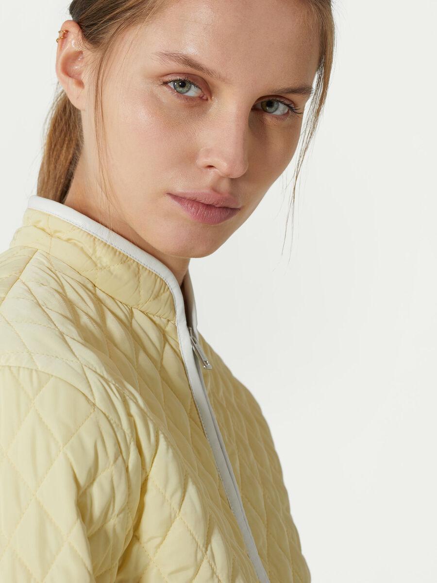 Down Jacket in taffeta di nylon trapuntato