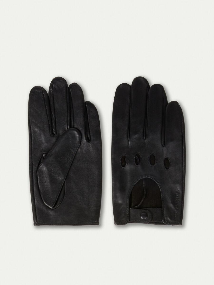 Driver Handschuhe aus Nappaleder