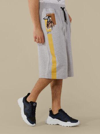 Regular-fit fleece shorts