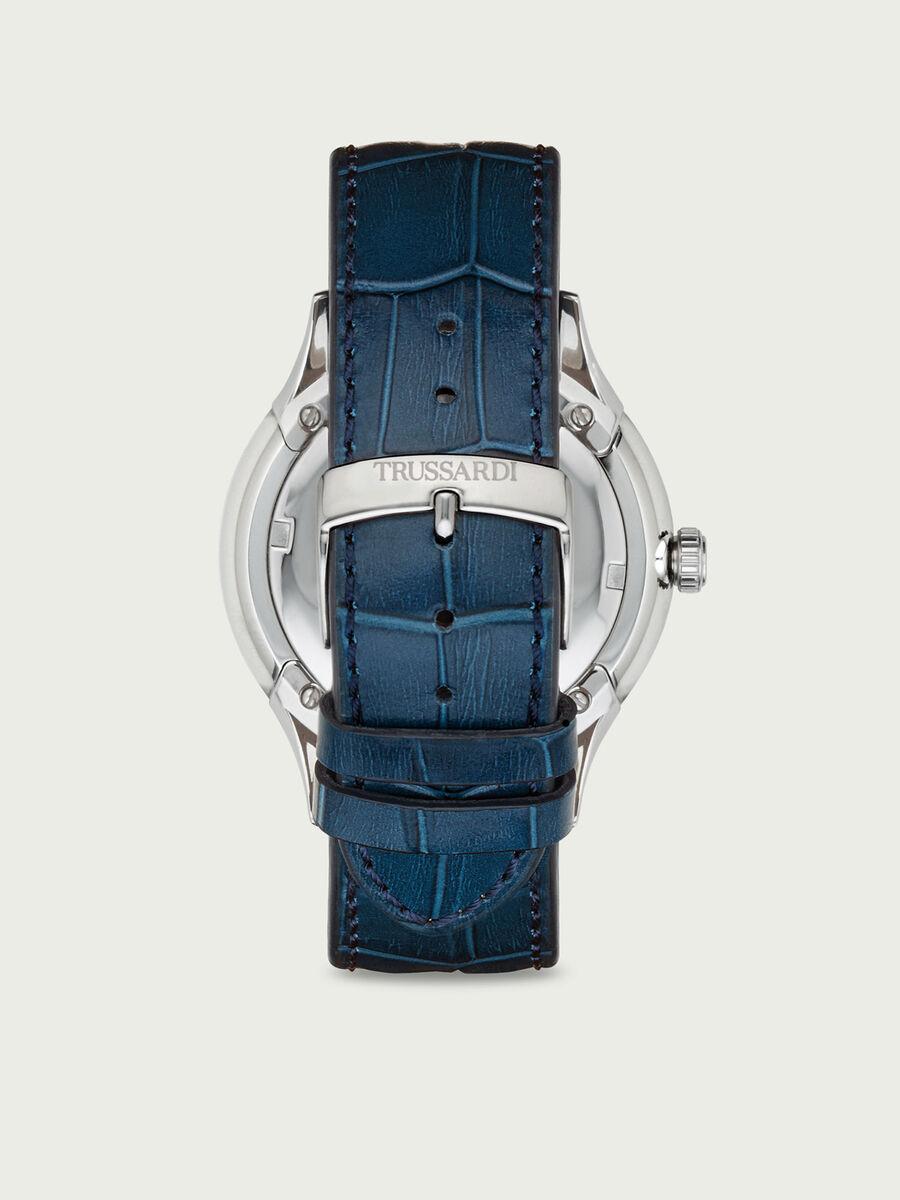 Orologio con cinturino in pelle