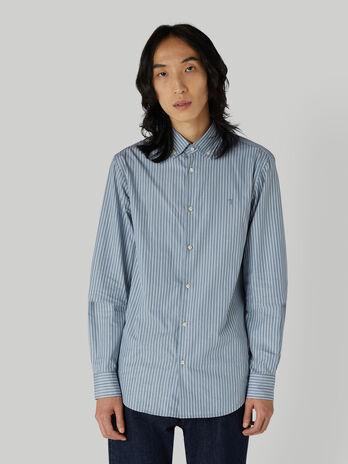 Hemd im Regular-Fit mit Streifen