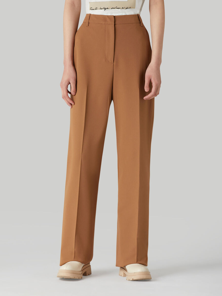 Pantalon en viscose technique