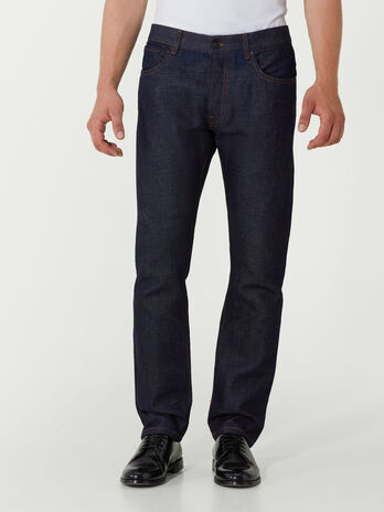 Loose fit Selvedge denim jeans