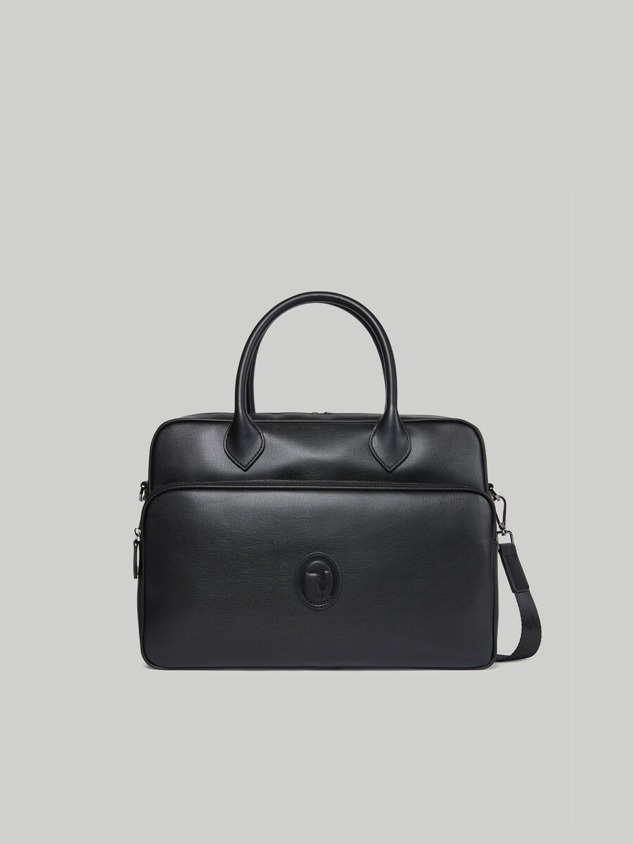 Attache-case Urban en similicuir saffiano