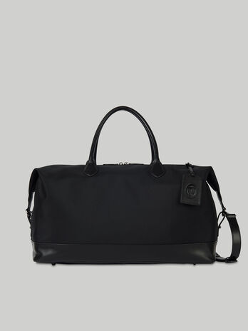 Large Hero carry-all in fabric and leather