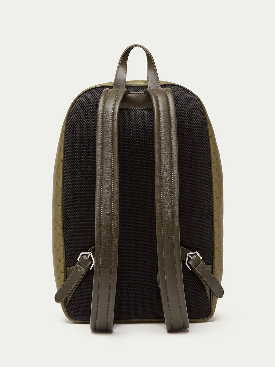 Printed Monogram backpack in Crespo leather