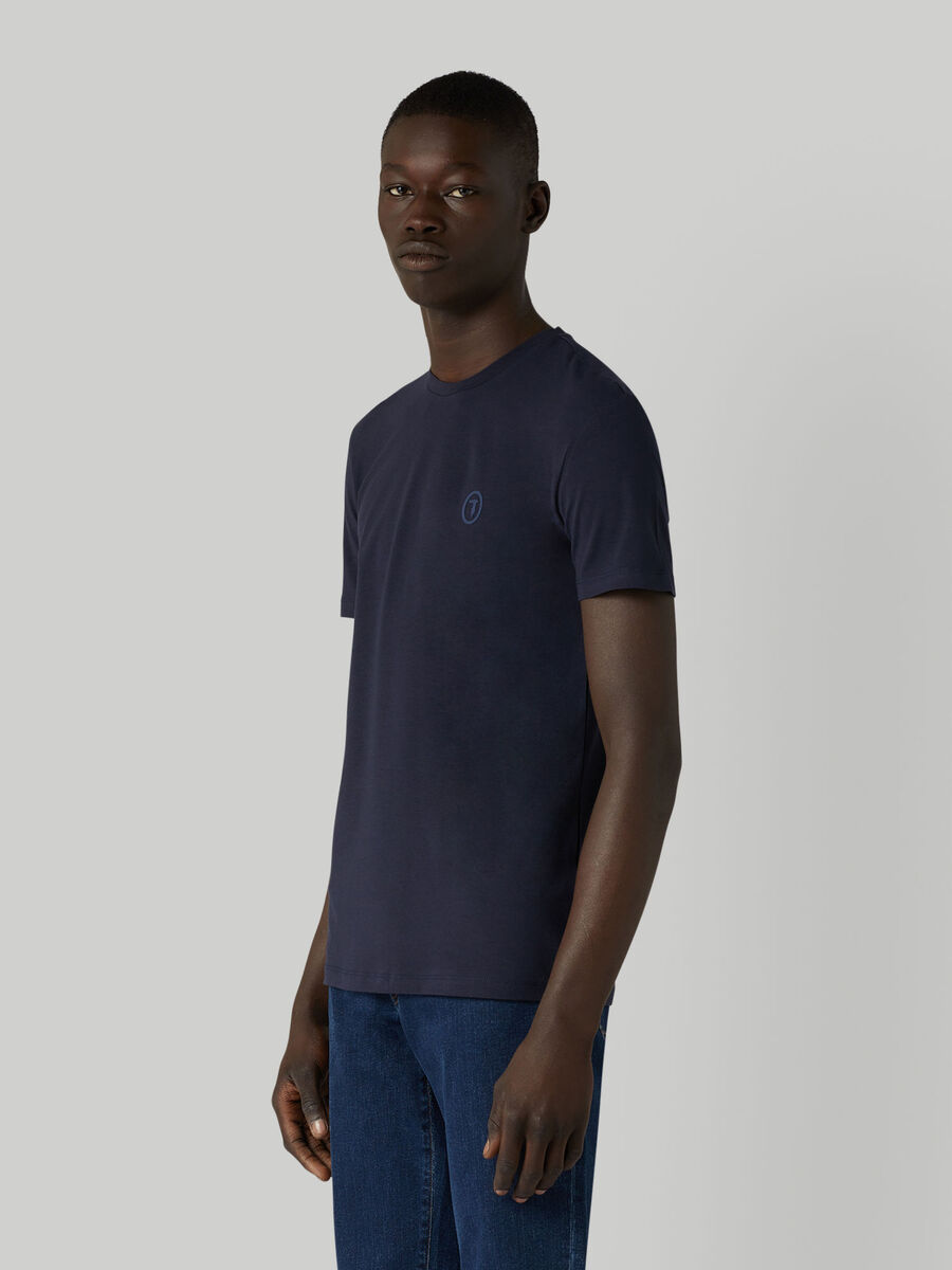 T-shirt coupe slim en jersey stretch