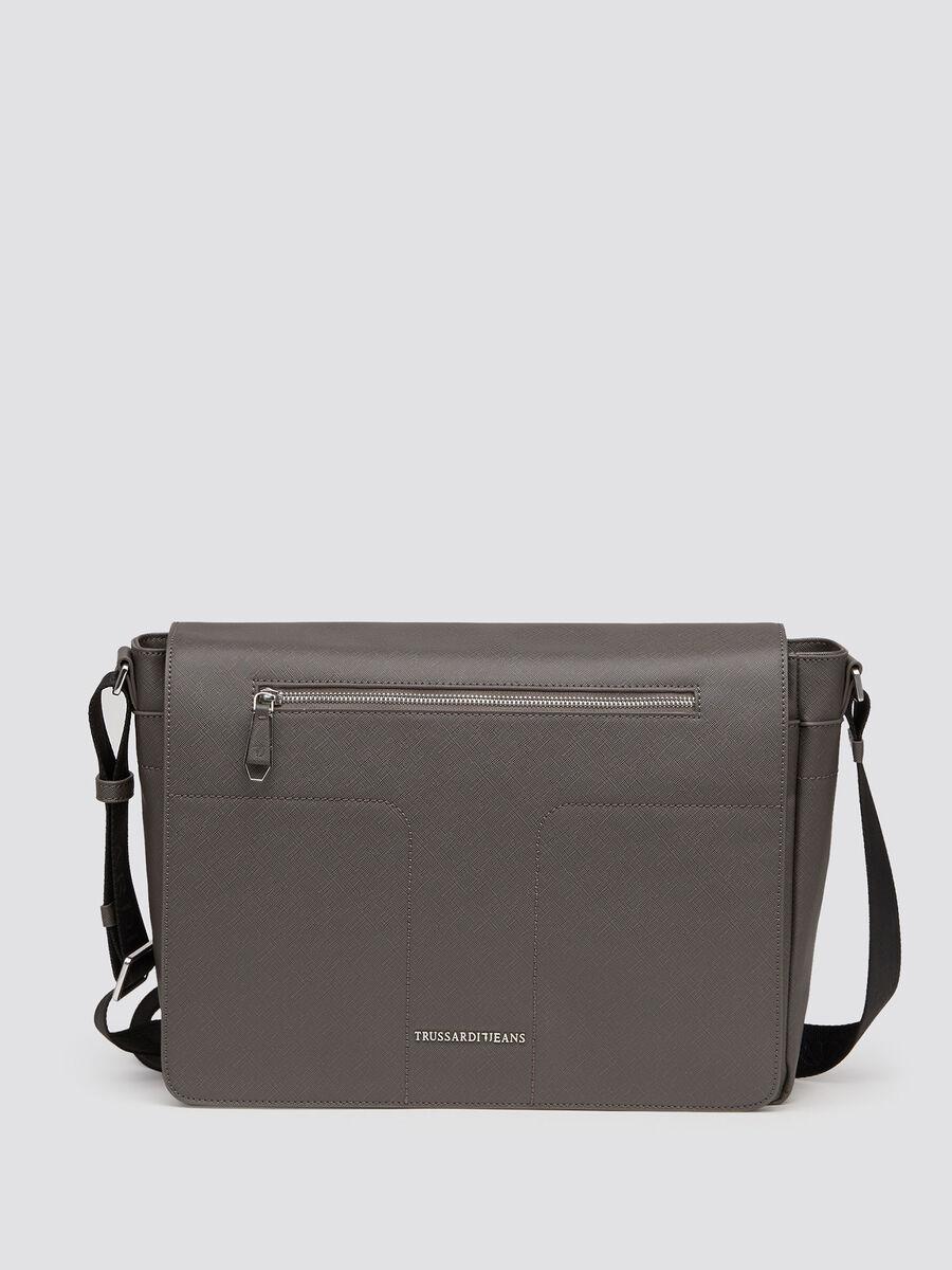 Saffiano Nebraska satchel