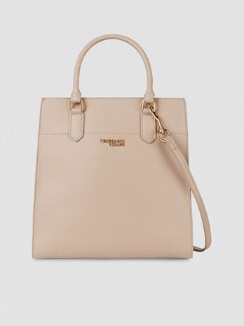 Medium T-Easy Light tote bag in saffiano