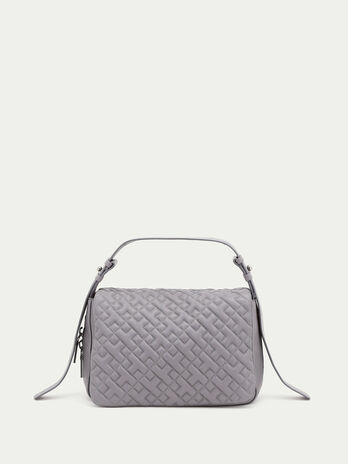Medium biker hunting bag in quilted nappa
