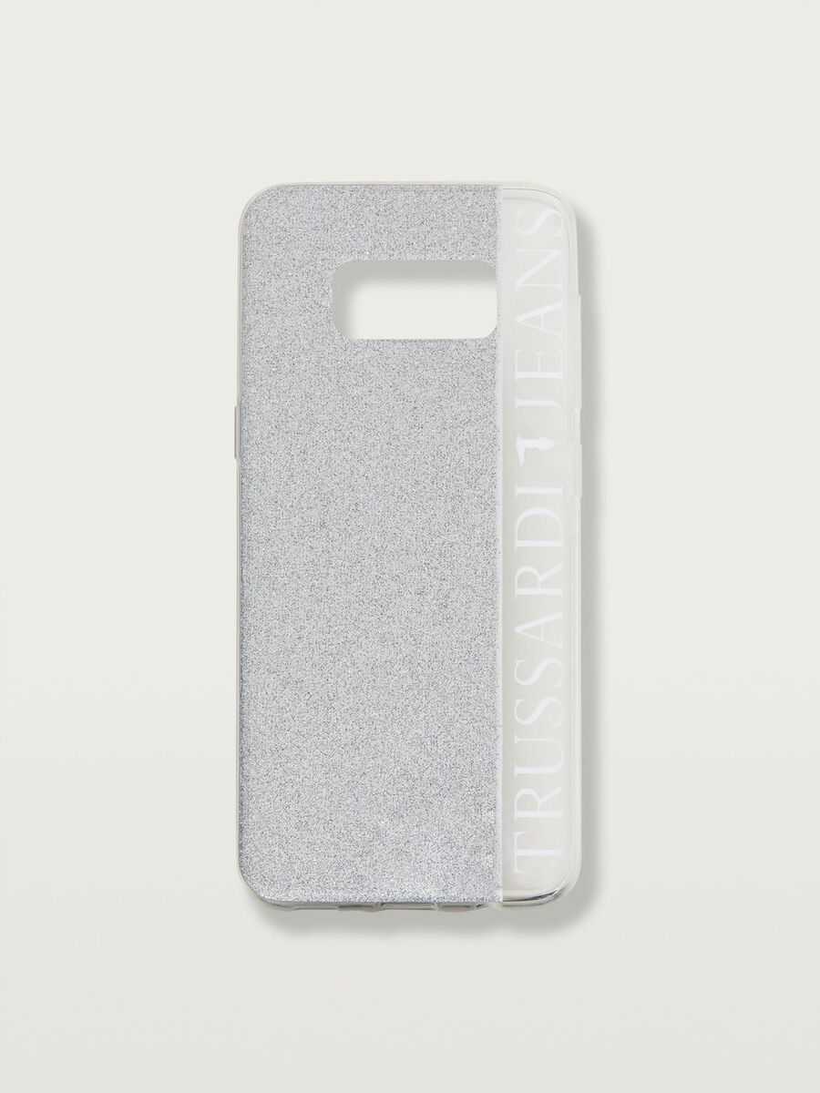 Glittery Galaxy S8 soft case