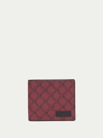 Crespo leather Monogram wallet