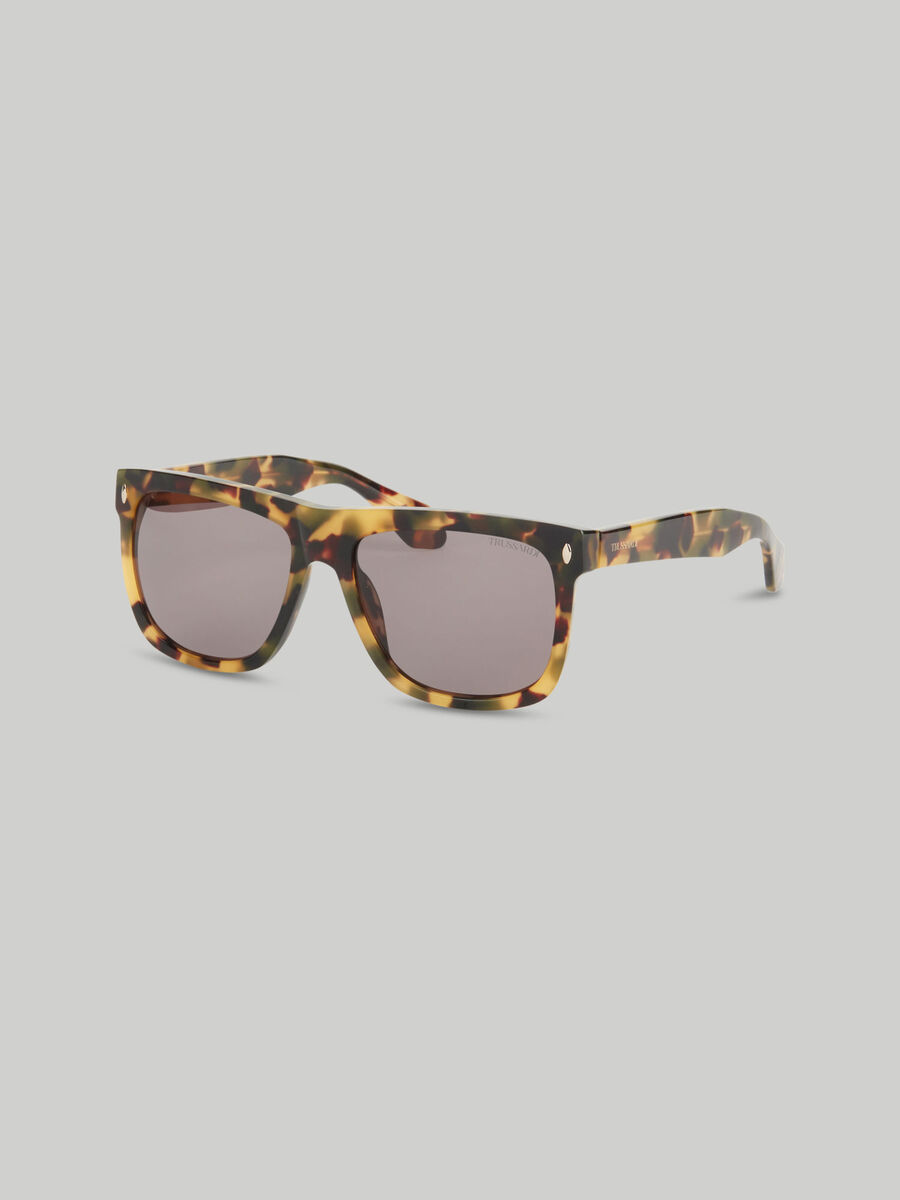 Sonnenbrille aus Acetat in Schildpatt Optik