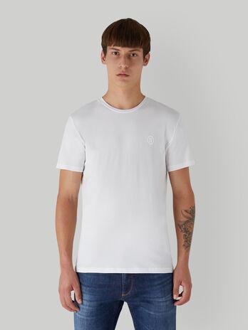 T-Shirt im Slim-Fit aus Stretch-Jersey