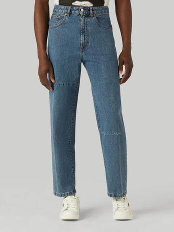 Jeans 80s loose fit in denim Jean