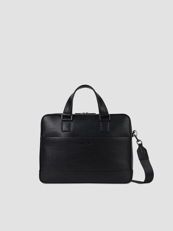 Business Tasche Cortina Medium aus Saffian Kunstleder