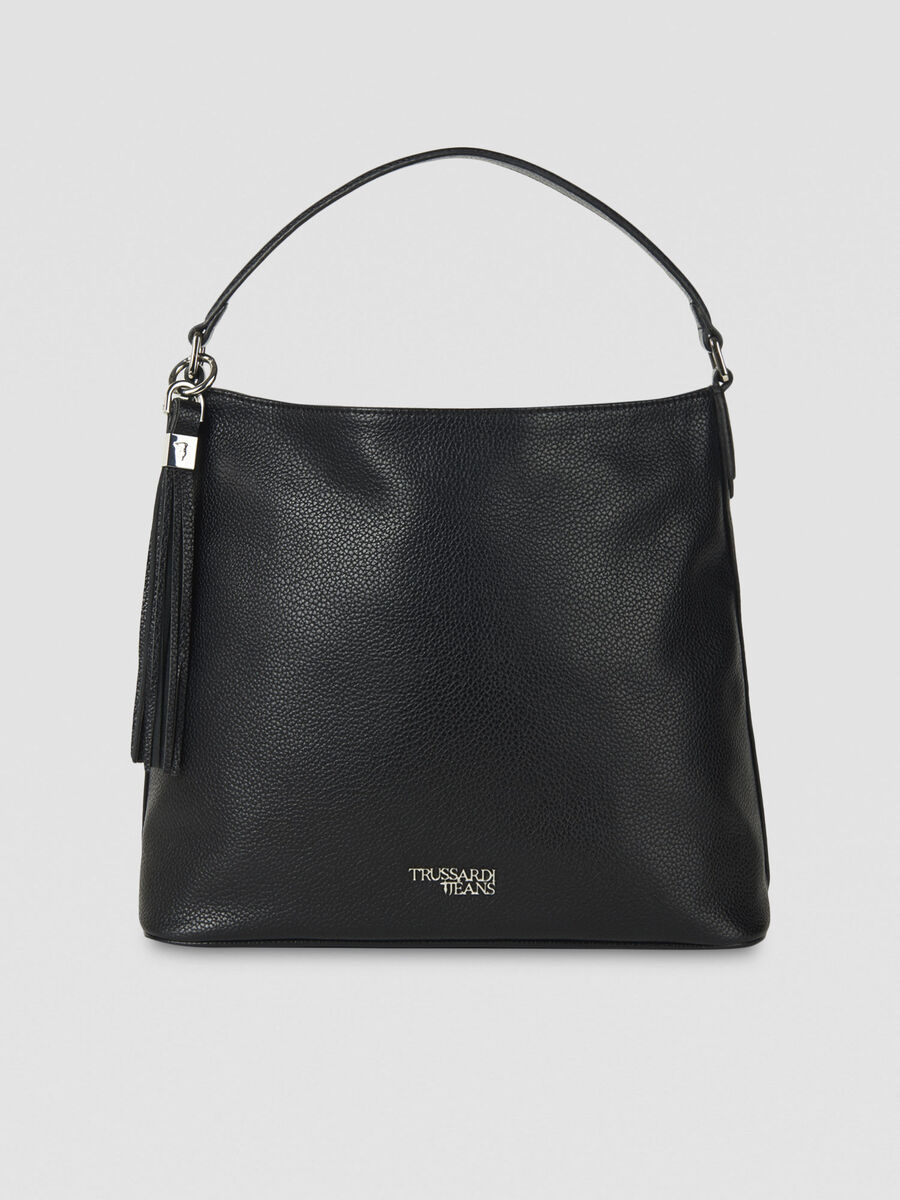 Medium Iris hobo bag in faux leather