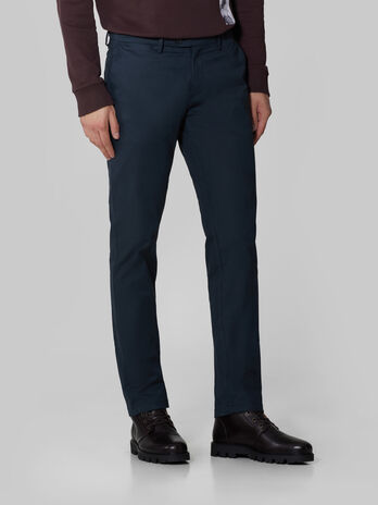 Stamford fit cotton trousers