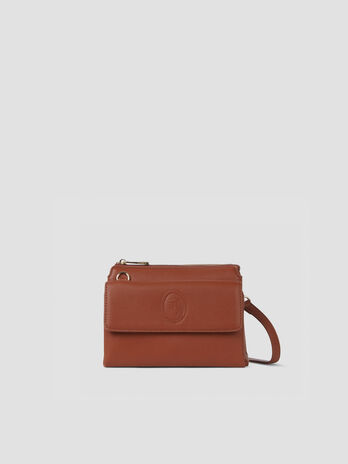 Small faux leather Belgrado crossbody bag