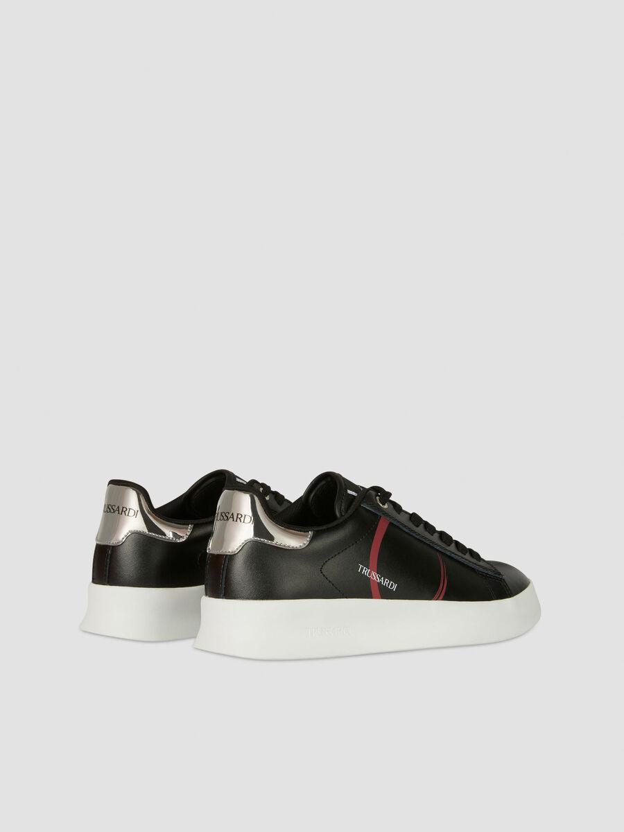 Sneakers Anemone en cuir a logo