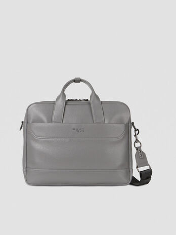Medium Business City bag in faux leather
