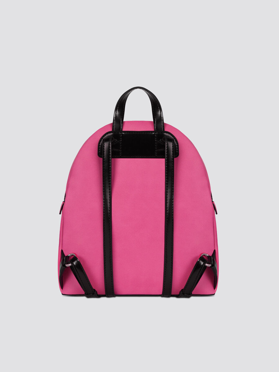 Medium faux leather With Love backpack